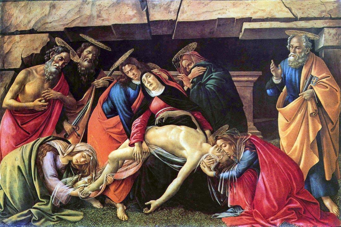 Lamentation of Christ [2] - Botticelli